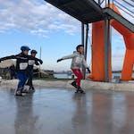 Junior Challenge vindt koude maar geslaagde aftrap bij Flevonice Wintertriathlon
